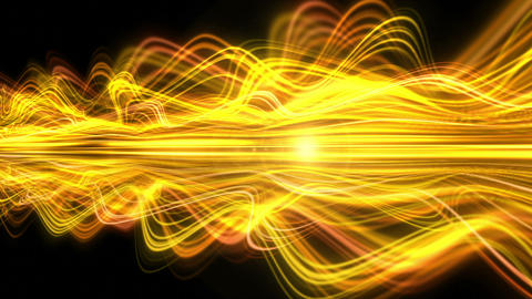 Light Streaks Background - Fractal Background 08 (HD) Animation