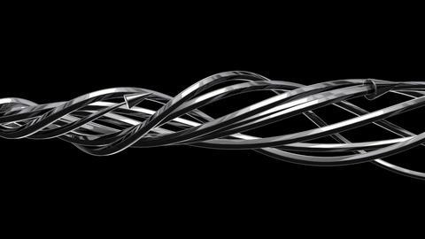 3D Arrows 05 (HD) Stock Video Footage