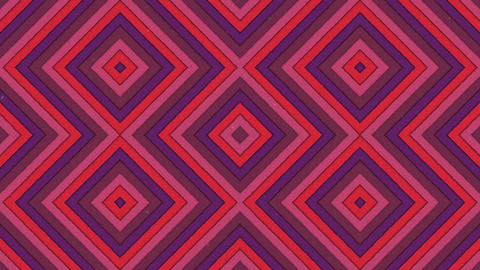 Abstract Shapes Rhombus Colorful Stripes Seamless Looping… Stock Video Footage