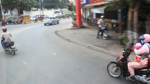 Traffic in Cambodia Live Action