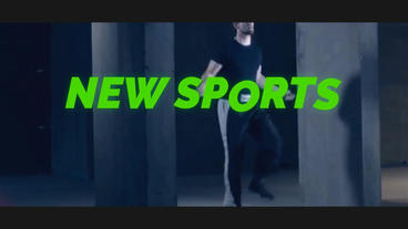 Sport Promo After Effects Template