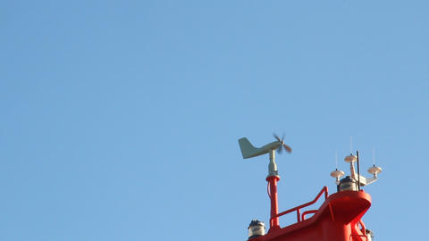 まわる風向風速計 ビデオ