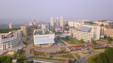 Russia, Krasnoyarsk. Siberian Federal University, MULTIFUNCTIONAL COMPLEX, From GIF