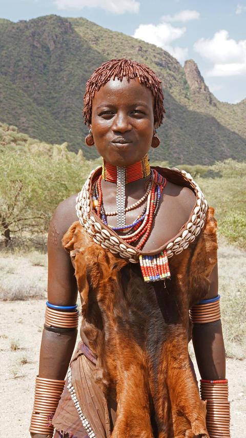 Hamer, Ethiopia, Africa フォト