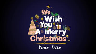 Neo ScrapBook Christmas Titles After Effects Template