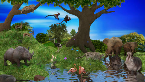 Jungle Animals GIF