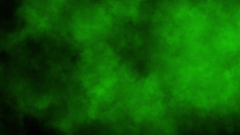 Green Smoke Fog Clouds Loop Motion Background Animation