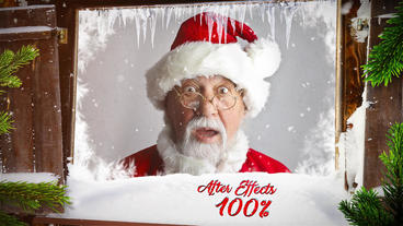 Christmas Slideshow - Frozen After Effects Template