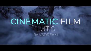 Cinematic Film LUT's Premiere Pro Template