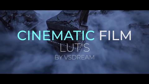 Cinematic Film LUT's Premiere Proテンプレート