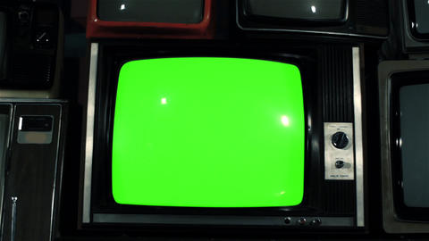 OLD GREEN SCREEN TV COLLECTION 1