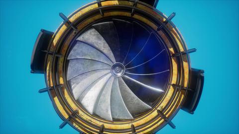 jet engine turbine parts ビデオ