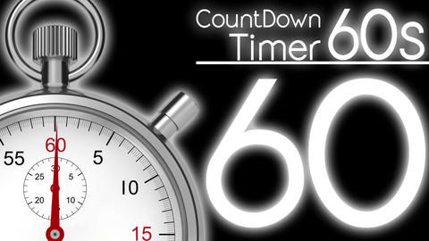 CountDownTimer 60seconds Animation