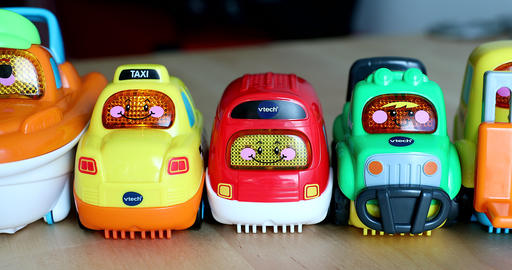 Funny Plastic Toy Cars For Babies GIF