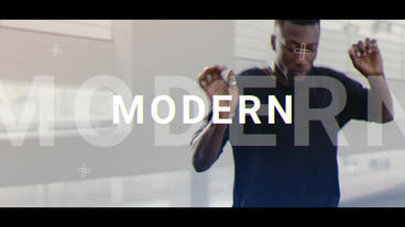 Modern Opener - Slideshow After Effectsテンプレート