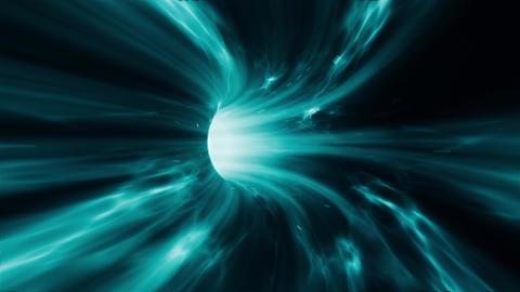 Wormhole time vortex loop Animation