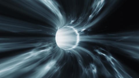 Wormhole time vortex loop CG動画素材