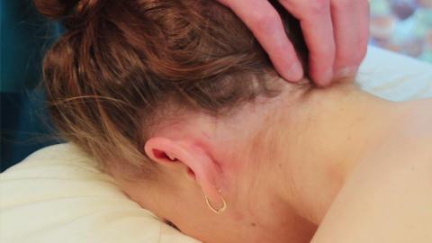 Neck Massage Footage