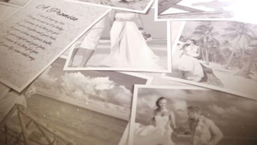 Wedding Memories stock footage