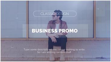 Business Promo Premiere Proテンプレート