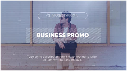 Business Promo Premiere Pro Template