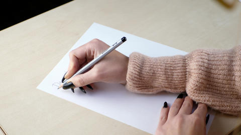 Letter and writing concept GIF