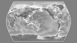 China. Times Atlas. Grayscale Animation
