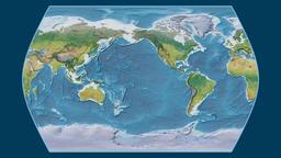 China. Times Atlas. Topographic Animation