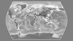 Brazil. Times Atlas. Grayscale Animation