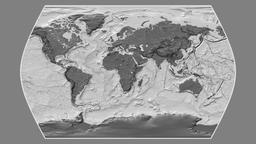 Ecuador. Times Atlas. Bilevel Animation