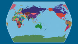 Egypt. Times Atlas. Administrative Animation