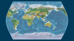 Egypt. Times Atlas. Topographic Animation