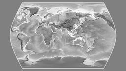 Ethiopia. Times Atlas. Grayscale Animation