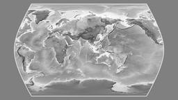 Greece. Times Atlas. Grayscale Animation