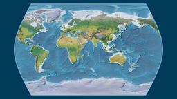 Greece. Times Atlas. Topographic Animation