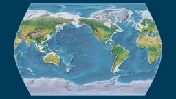 Indonesia. Times Atlas. Topographic Animation
