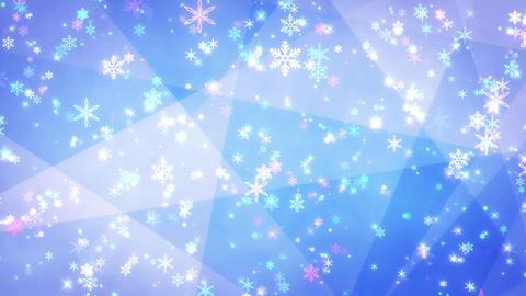 Winter background loop 36 Footage