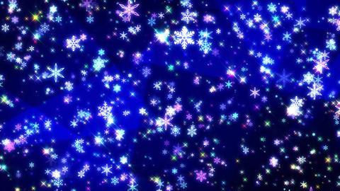 Winter background loop 42 Footage