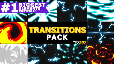 Dynamic Handy Transitions After Effects Template