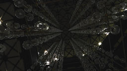 Glass Chandelier Orbs and Ceiling Lights Abstract Live Action