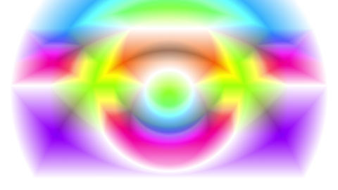 4K Color Changing Vibrant Abstract Prism 1 Animation