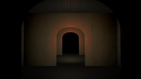 Walking through Nightmare 1 Animation