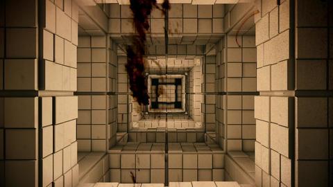 4K Science Fiction Minimalist Cube Maze Flythrough Fantasy Utopia 3D Animatio Animation