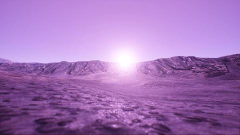 4K Wild Rocky Landscape 3D Animation Animation