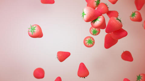 strawberry particle GIF