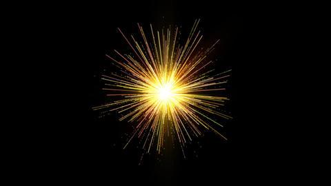 Spark Bomb FIreworks Stock Video Footage