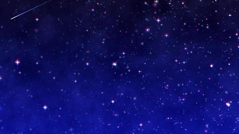 Starlight4 shooting star 4K 15s, Banco de Videos Animados