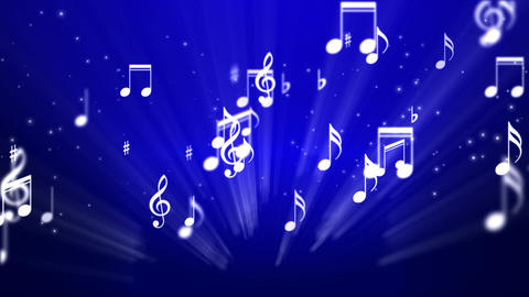 Music Notes Background 02 Animation