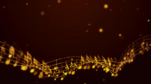 Music Notes Background 03 Animation