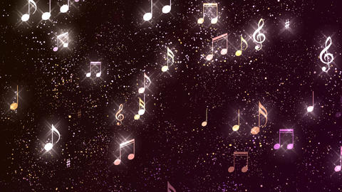 Music Notes Background 04 GIF